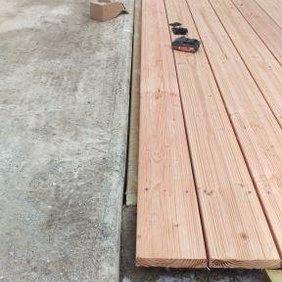 Plancher terrasse entrerpise