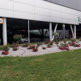 Aménager le parking extérieur du Leclerc
